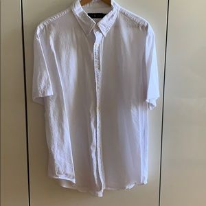 Ralph Lauren Seersucker Short Sleeve Button Down